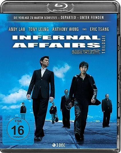 Infernal Affairs 1-3 - Trilogie [Blu-ray]