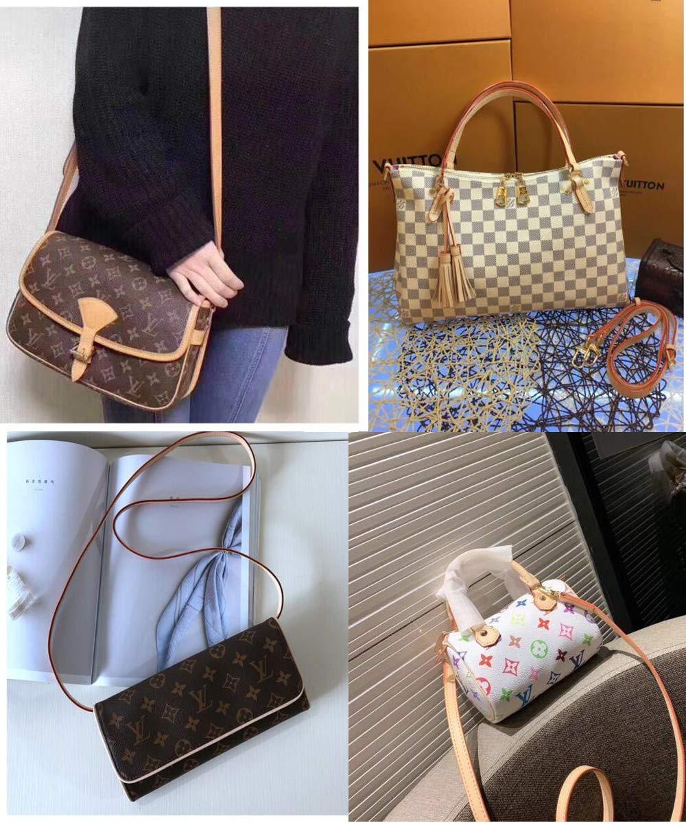 Amazon.com: Vachetta Leather Strap for Louis Vuitton Strap ...