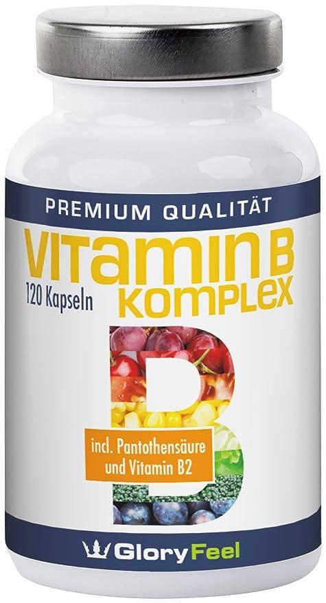 La vitamina B Complejo Cápsulas - La vitamina B1, B2, B5, B6,