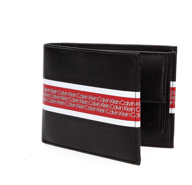 Calvin Klein K50K504251 VAULT 5CC MONEDEROS Hombre BLACK UNI ...