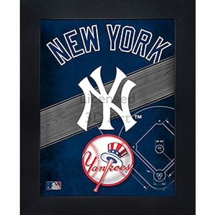 Amazon.com  New York Yankees 3D Poster Wall Art Decor Framed  10056d4723c3