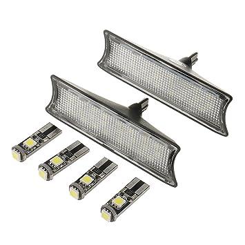Gazechimp LED Luz de Cúpula Bombilla de Techo Interior Kit para BMW E90 E91 E93 de Metal Plástico: Amazon.es: Coche y moto