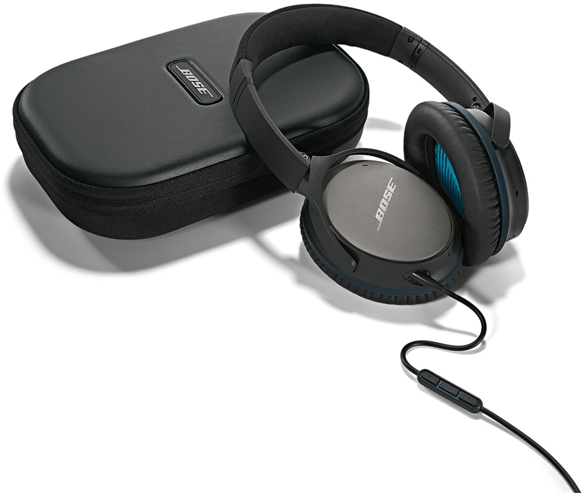 Bose QuietComfort 25 Acoustic Noise Cancelling Headphones for Apple devices - Black (wired, 3.5mm) by Bose (Image #15)