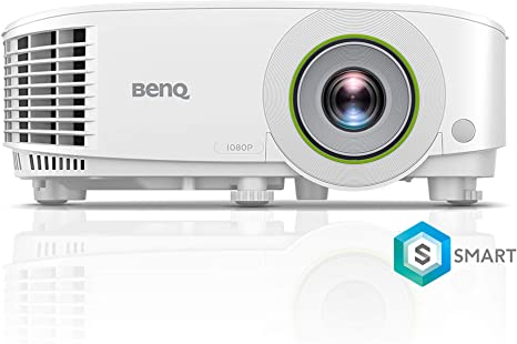BenQ EH600 1080P Portable Smart Business Projector | Multiple OS Wireless Mirroring Compatibility | Built-In Apps & Internet Browser for Easy ...