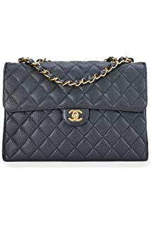 726335a207 Amazon.com: CHANEL Lambskin Classic Flap Bag with Gold Chain: Shoes
