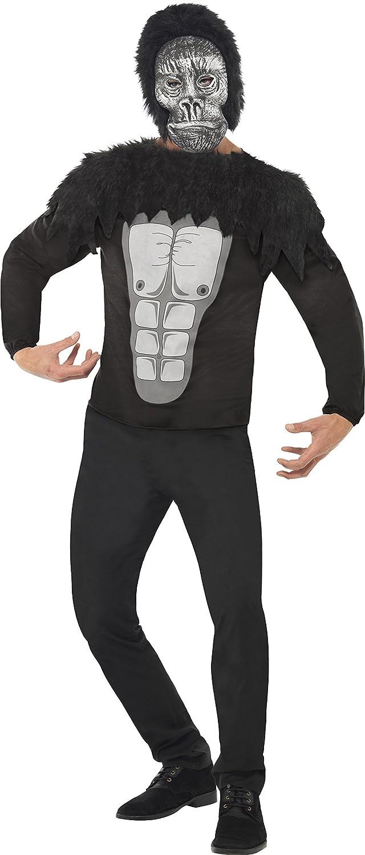 Smiffys - Disfraz de gorila adultos, talla L (24212L): Amazon.es ...