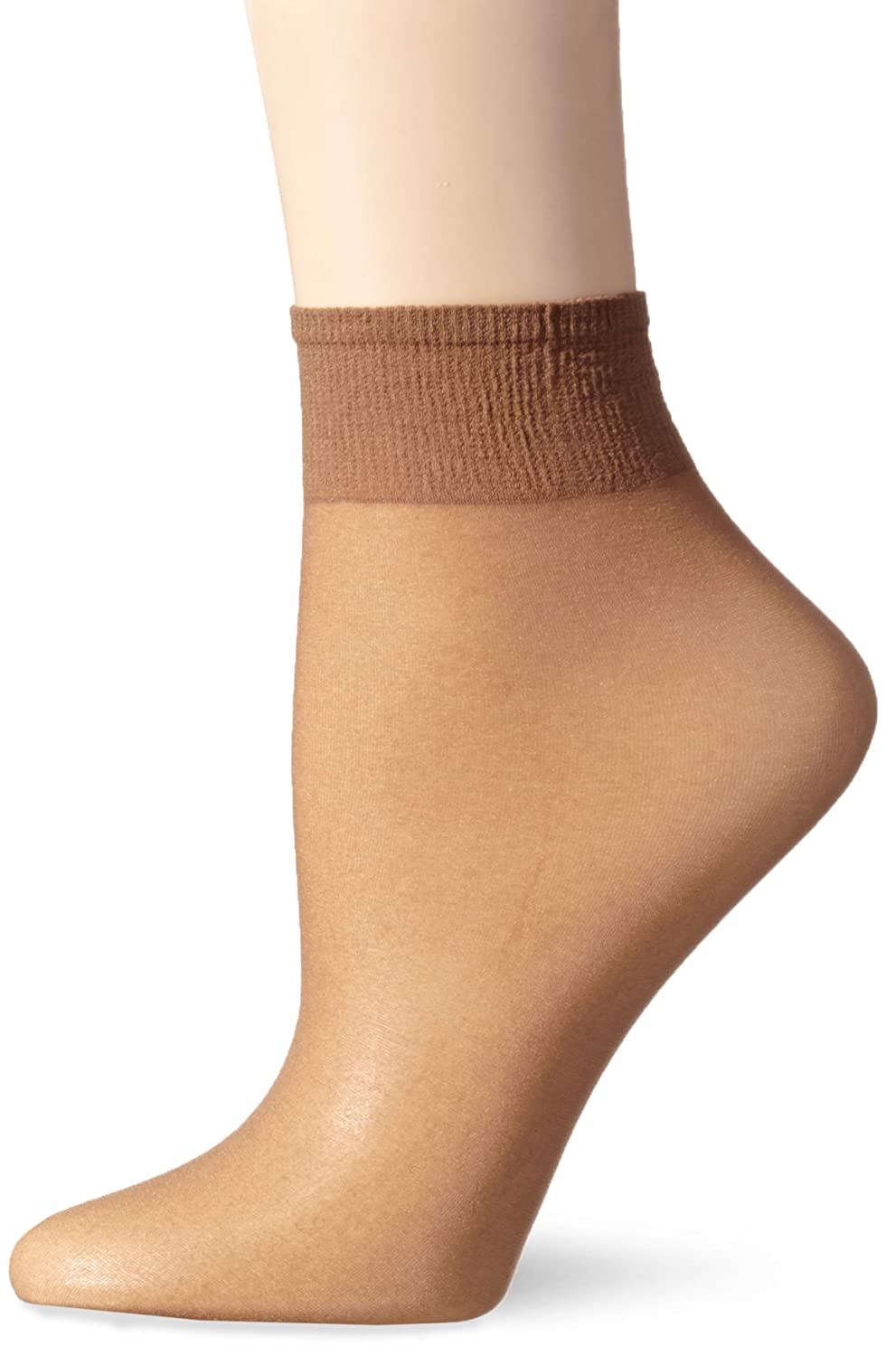 b152e7e7b Details about L eggs Women s Everyday Ankle High Sheer Toe