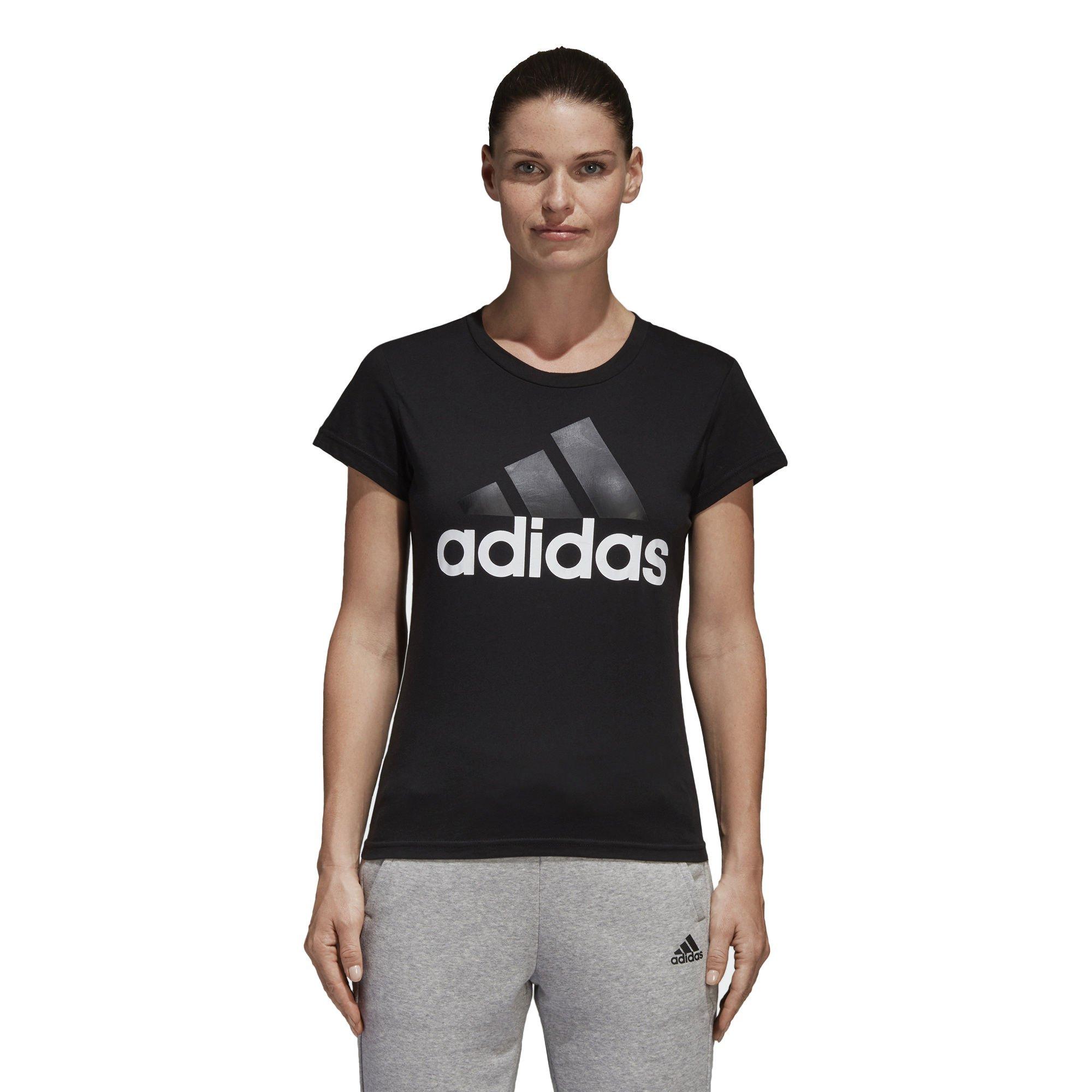 adidas Damen Linear Ärmellos T Shirt Top Trägertop Funktions Rundhals Training