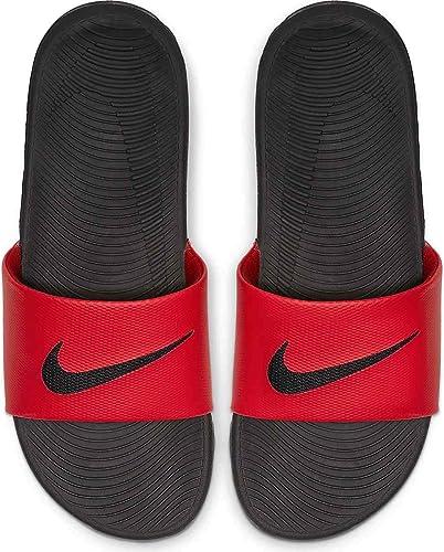 termómetro adjetivo Montaña Kilauea  Nike Kawa Slide - Sandalias atléticas para hombre, color rojo y negro,  talla 10 M US: Amazon.com.mx: Ropa, Zapatos y Accesorios