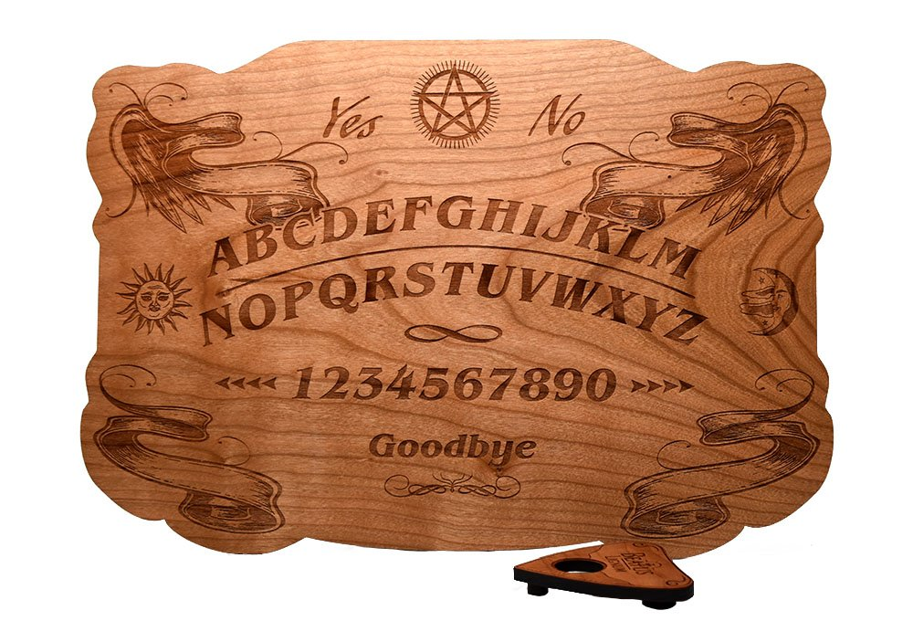 Beatus Lignum Wood Ouija 100% Cherry, Wood - 13.5 x 9.5 in 1/4 Thick - All Natural - Plain Wood - Summon with Class and HIGH Success by Beatus Lignum