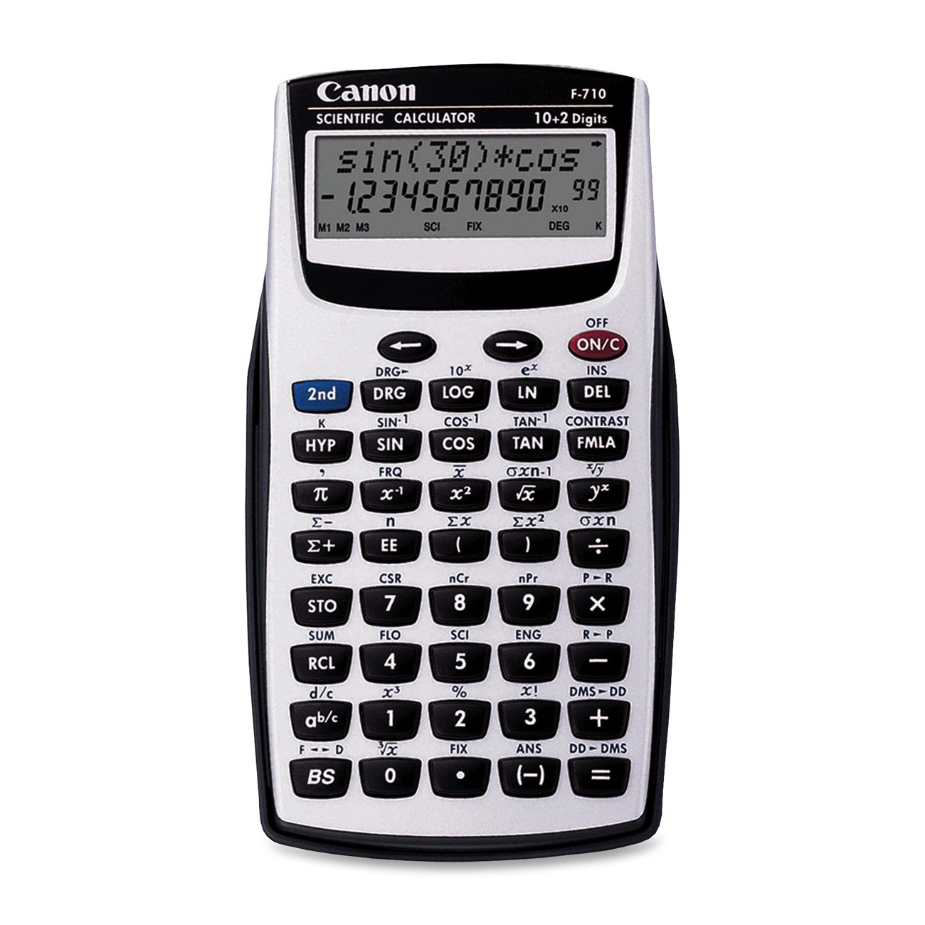 Canon F710 Dual-Line Scientific Calculator