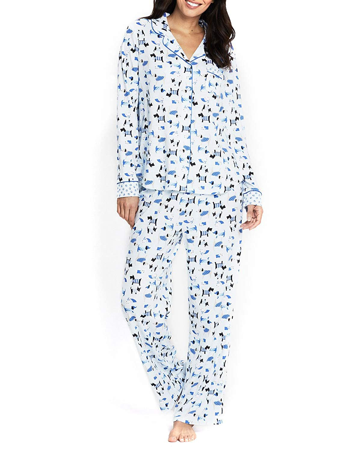 bluee Dogs Karen Neuberger Women's Pajamas PJ's