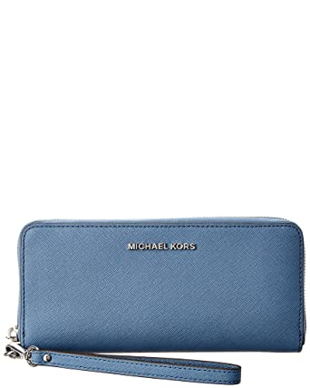 affd6032b076a7 Michael Kors Jet Set Travel Continental, Denim: Handbags: Amazon.com