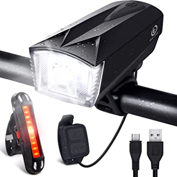 Omeril Lumiere Velo Rechargeable Usb Lampe Velo Led Puissante