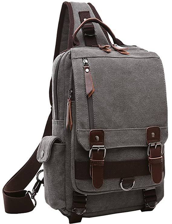 The Mygreen Canvas Cross Body Messenger Bag travel product recommended by Dane Kolbaba on Lifney.
