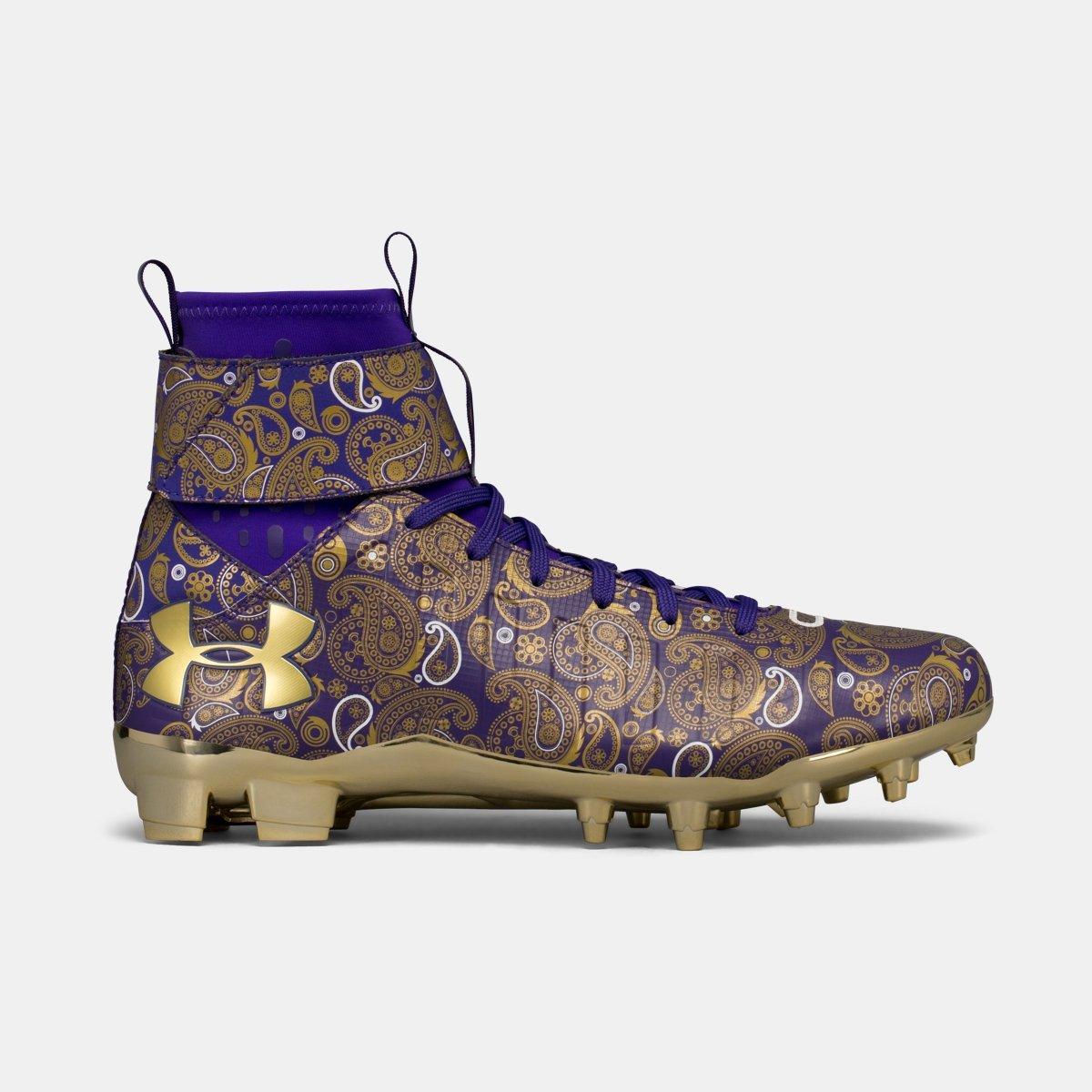 [アンダーアーマー] メンズ UA C1N MC Football Cleats ― Limited Edition [並行輸入品] B074WPM4RZ Purple 29.0 cm 29.0 cm Purple