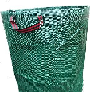 Bolsa de Hoja caduca Jardín Bolsas 272L D67 * 76cm jardinería Bolsa de la Hoja Puede ser reutilizado Impermeable PP Ampliado Ambiental Bolsa de residuos: Amazon.es: Hogar