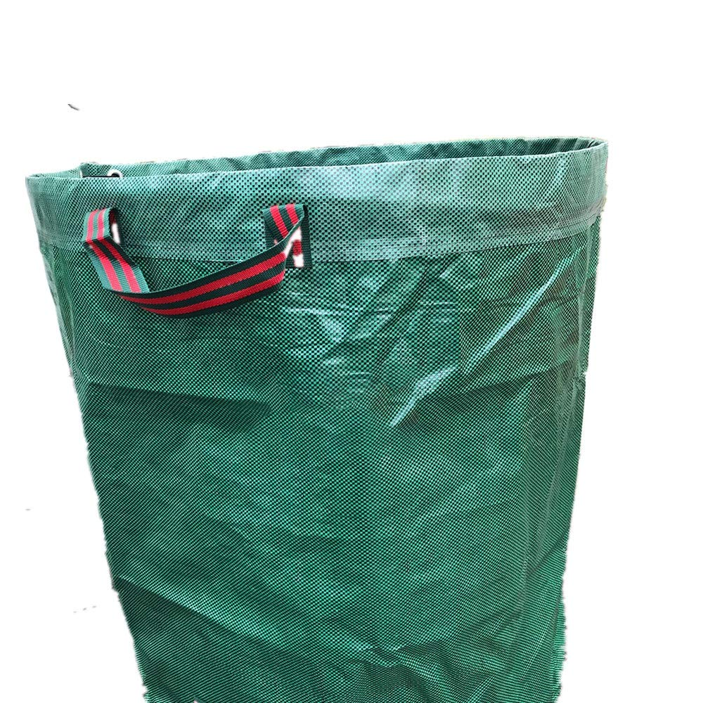 Cherlvy 272L D6776cm Gardening Leaf Bag Can Be Reused Waterproof PP Expanded Environmental Waste Bag