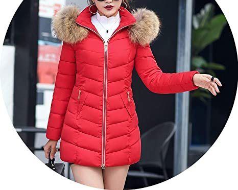 Style Winter Warm Long Woman Parkas Appliques Pockets Korean Style Solid Zipper Hooded Thick Female Long Sleeve Parkas Parkas Women's Clothing