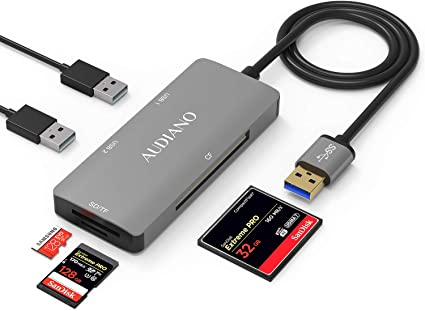 PRO USB 3.0 Card Reader Works for Samsung Galaxy Tab S3 Adapter to Directly Read at 5Gbps Your MicroSDHC MicroSDXC Cards