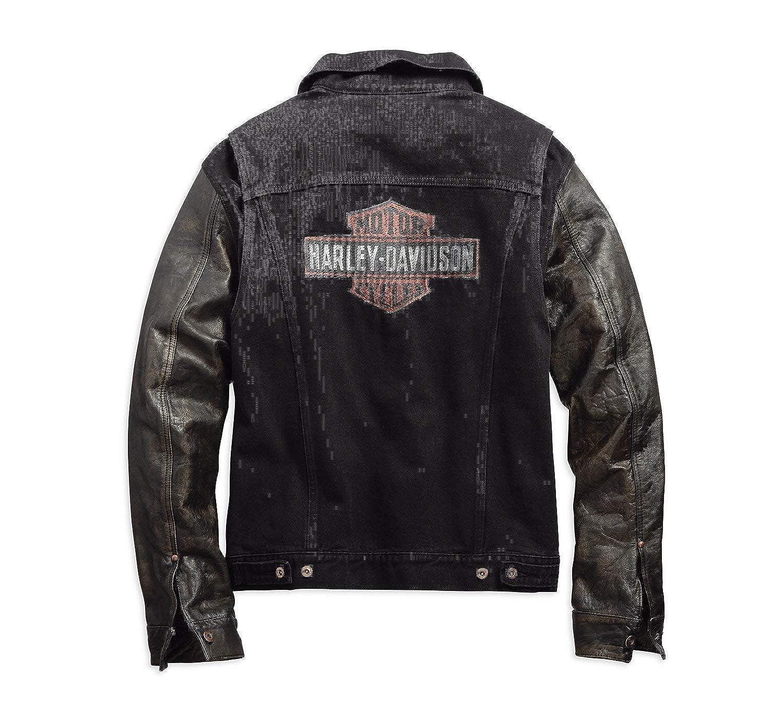 Harley Davidson - Chaqueta - para Hombre Negro L: Amazon.es ...