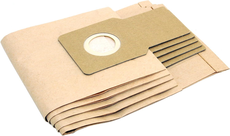 Panasonic MC-UG302 MC-UG304 bolsas de polvo de aspiradora de papel x 5: Amazon.es: Hogar