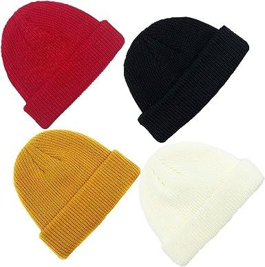 Fisherman hat wool Mens beanie winter Trawler beanie hat Docker hat