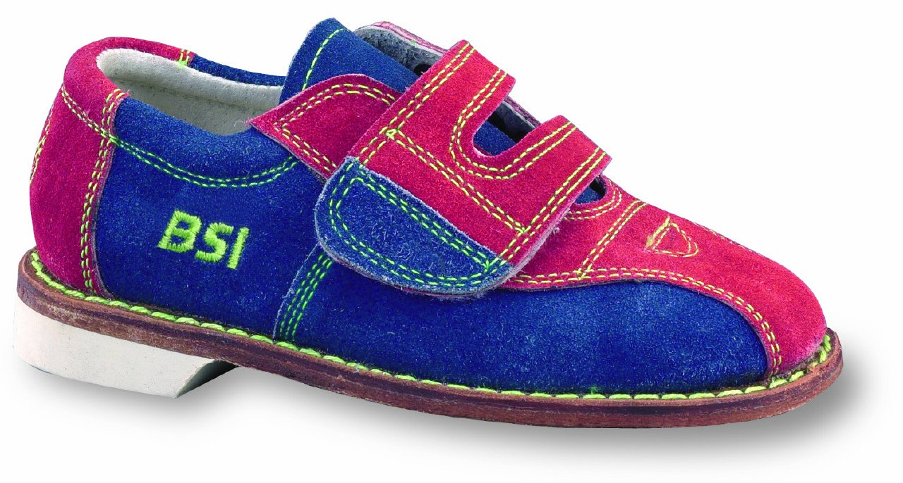 BSI Boys Suede Rental Shoes, Size 1.0