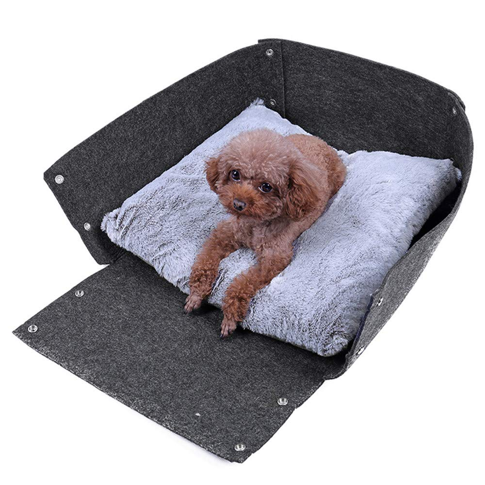 Wuwenw Multifunction Quick Dry Instant Waterproof Kennel Pet Cat Bed Durable Nonwoven Felt Pet Sofa Mattress Not Easy To Pilling