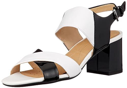 6fde0ed0 Geox D Audalies Mid Sandalo A, Sandalias con Cuña para Mujer: Amazon.es:  Zapatos y complementos