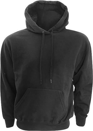 Sweat shirt à capuche homme sport FRUIT OF THE LOOM  COULEUR NOIR