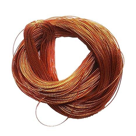939183e542a3 MagiDeal Cuerda de Nylon de 100 Yardas Cordón para Etiqueta Tarjeta  Artesanías Accesorio de Manualidades de