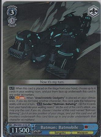 Amazon.com: Weiss Schwarz - Batman: Batmobile - BNJ/SX01 ...