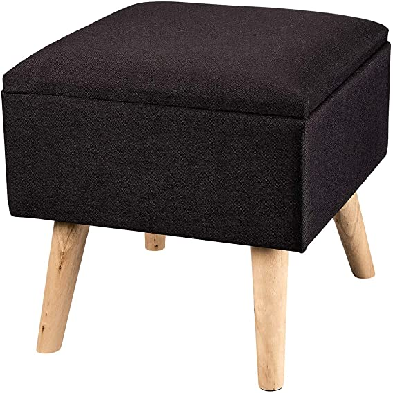 OakRidge Square Footstool Storage Ottoman