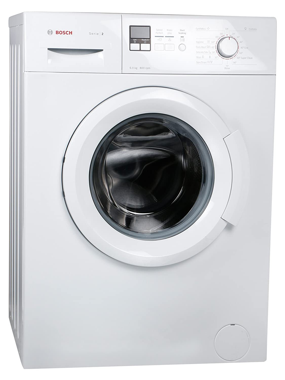 Bosch 6 kg Fully-Automatic Front Loading Washing Machine (WAB16161IN,  White): Amazon.in: Home & Kitchen
