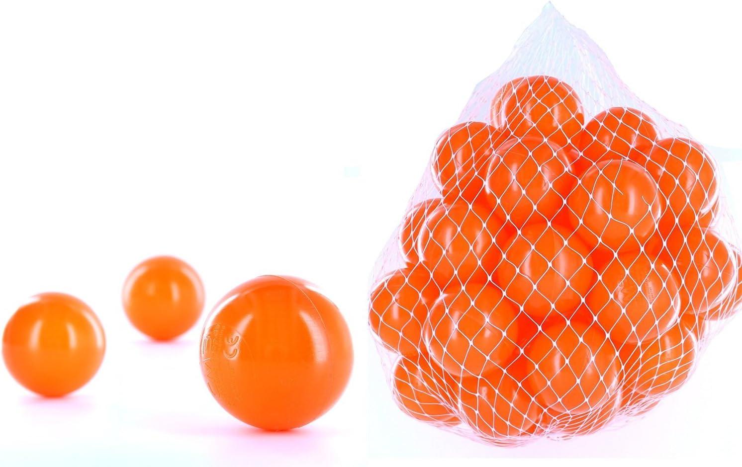 2500pelotas para pelotas de un baño en el color naranja para niños, bebés o también Animales