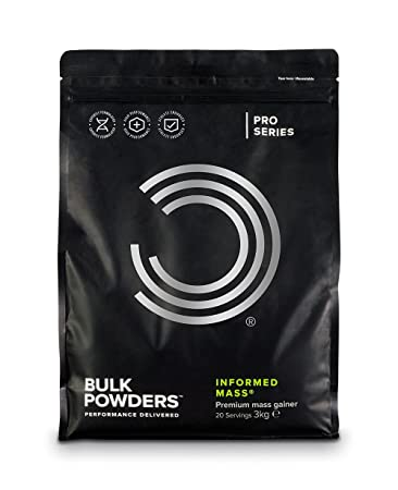 Amazon.com: Bulk POWDERS Informado masa, weight Gainer de ...
