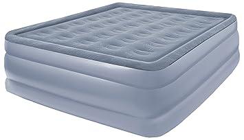 Amazon.com: Pure Comfort Full Size Flock Raised Air Mattress ...