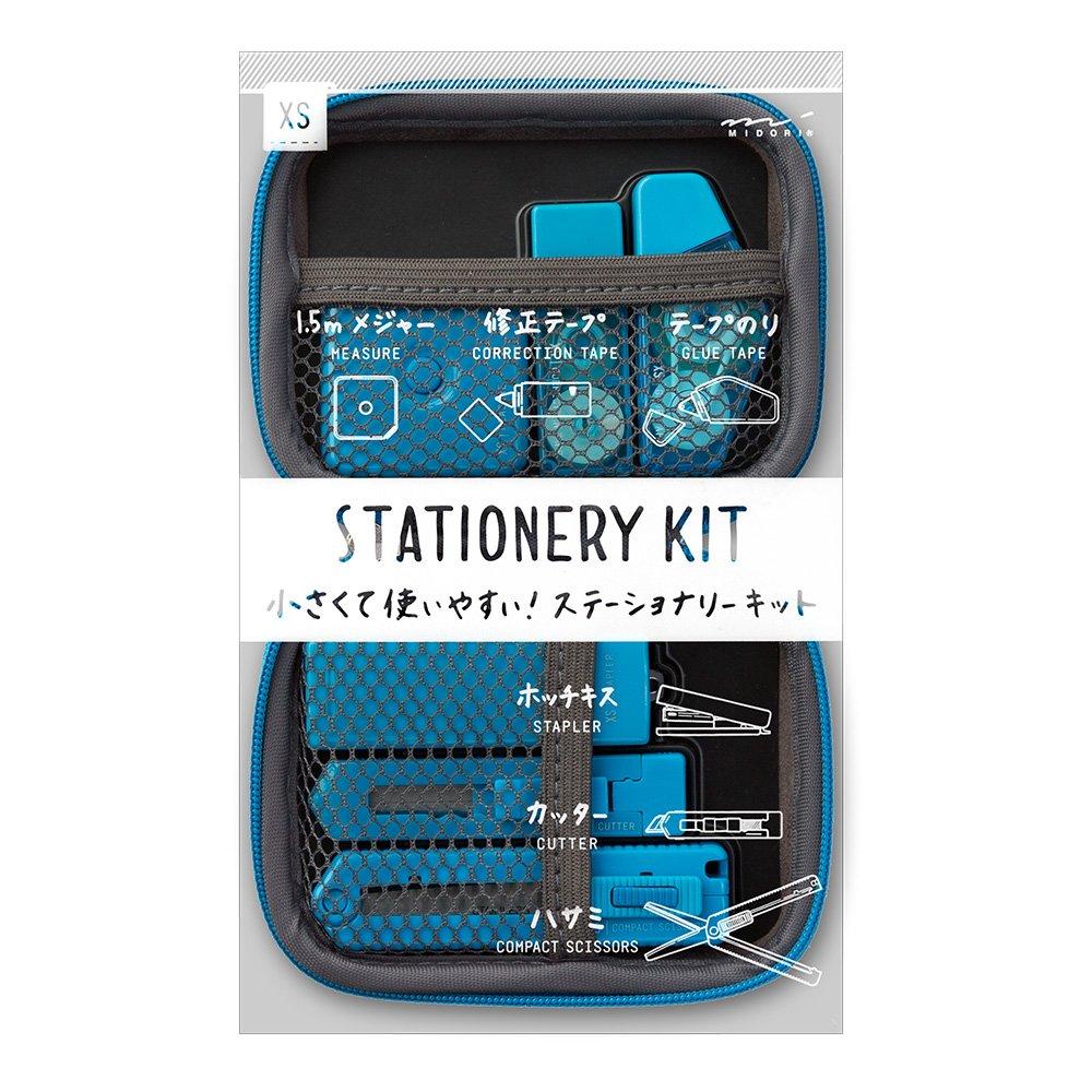 Midori 35321006 XS Stationery Kit - Blue