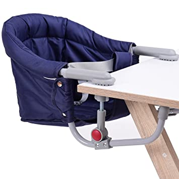 Costzon Hook On Chair Fast Table Chair Portable u0026 Foldable Hook-On Booster  sc 1 st  Amazon.com & Amazon.com : Costzon Hook On Chair Fast Table Chair Portable ...