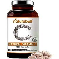 NatureBell Super Vitamin C from Fruits and Berries, 120 Vegetarian Capsules, Best Immune Vitamin to Supports Immune…