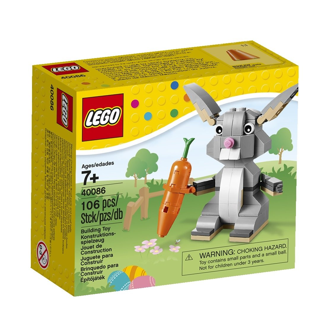 Amazon lego 40086 easter bunny toys games negle