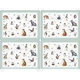 Pimpernel Lot de 6 sets de table Motif animaux Wrendale: Amazon.fr ...