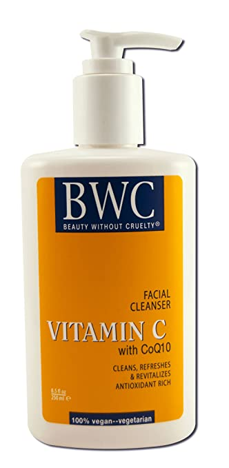 Beauty Without Cruelty Facial Cleanser Vitamin C with Coq10