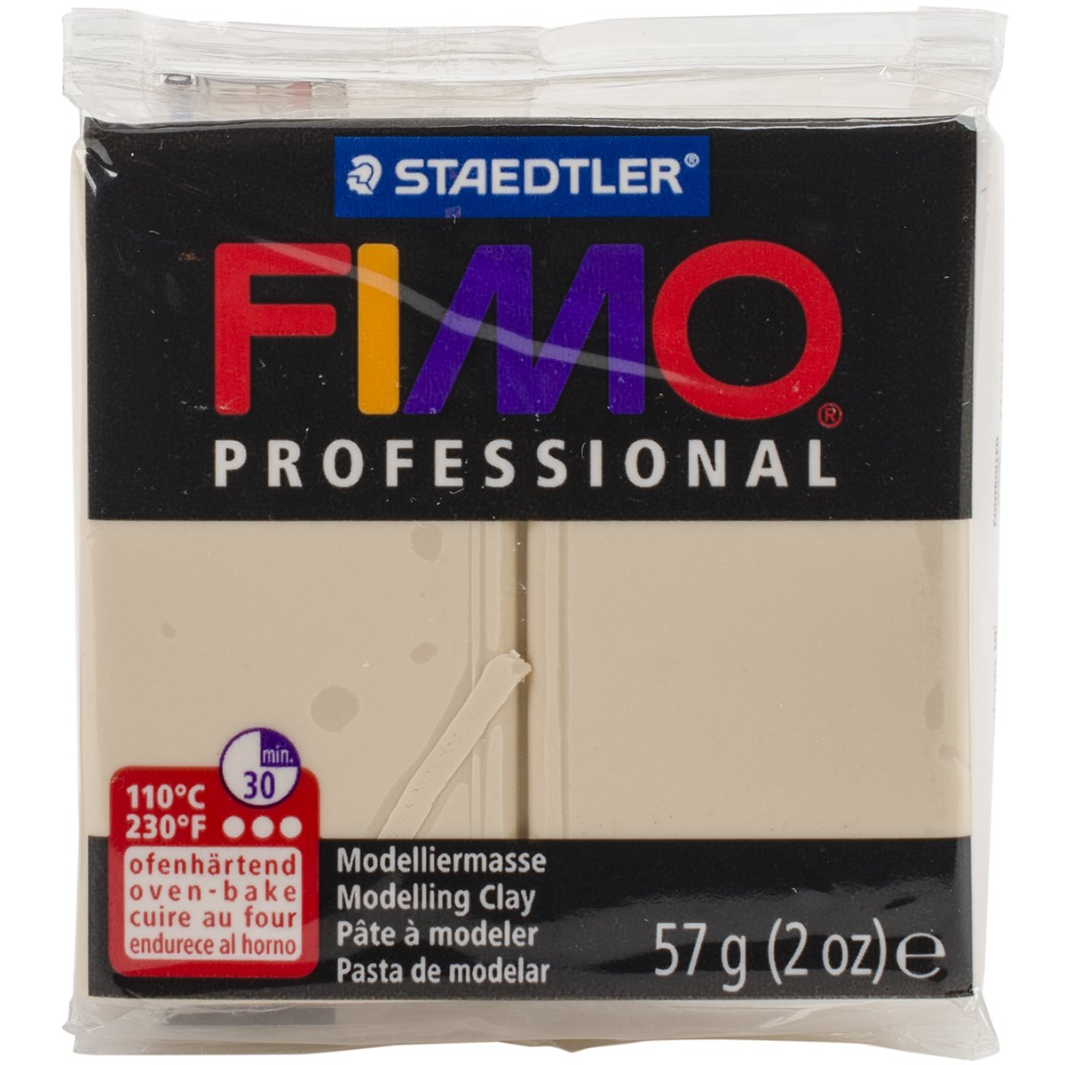 Staedtler Fimo Professional Soft Polymer Clay, 2 oz, Champagne EF8005-2