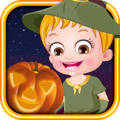 Baby Hazel Halloween Night -