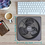 OPOLAR 8 Inch Desk Fan with Timer, USB