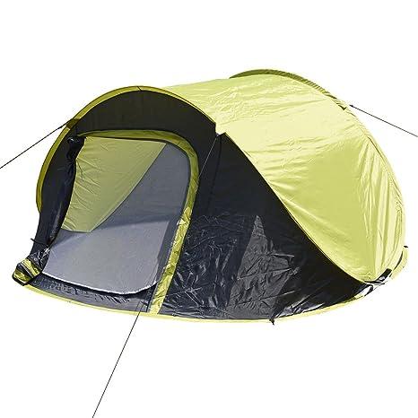 FDS 3 – 4 personas exterior tienda desplegable de saco de dormir de viaje de camping