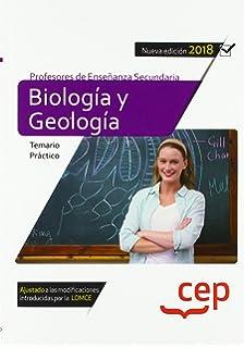 Cuerpo de profesores de enseñanza secundaria. Biología y geología ...