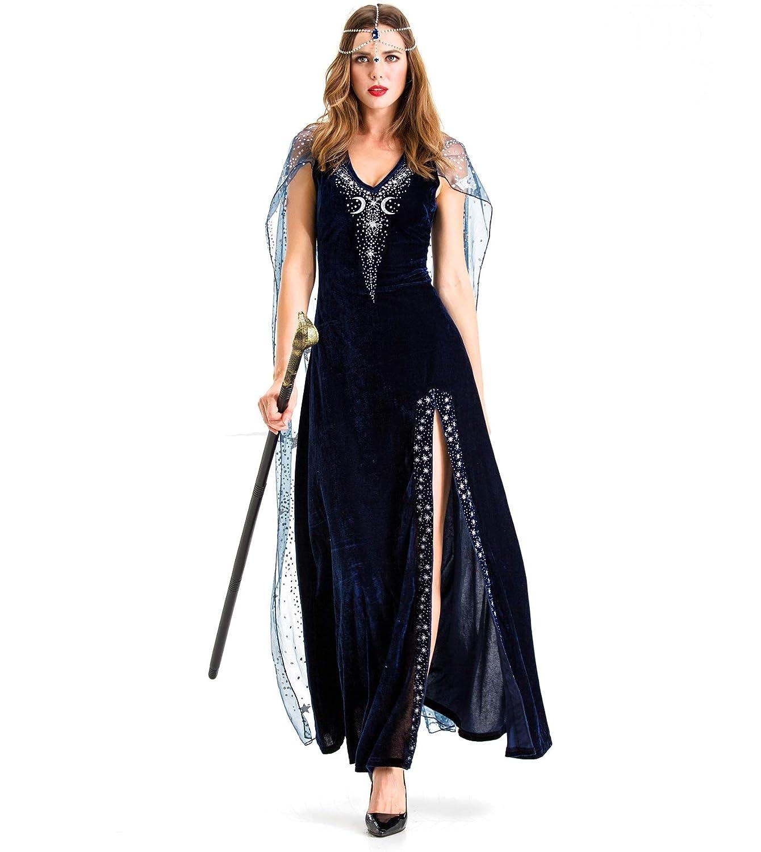 Vestido de Halloween para Adultos Traje de Batra Vestido de ...